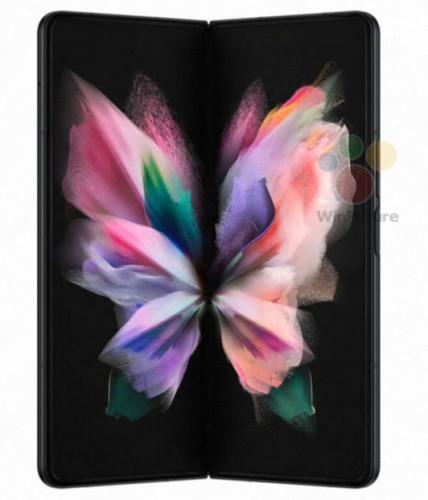 Рендеры Galaxy Z Fold 3