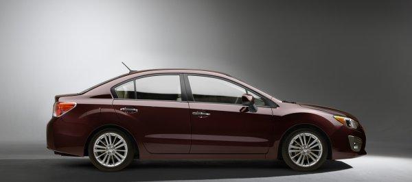 В Украину новую Subaru Impreza привезут осенью
