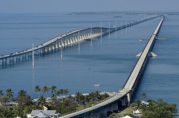 Американский мост Seven Mile