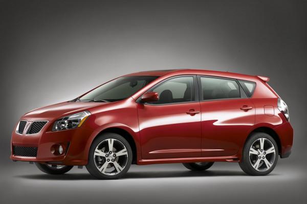 2009 Pontiac Vibe - лучший бюджетник по версии CR