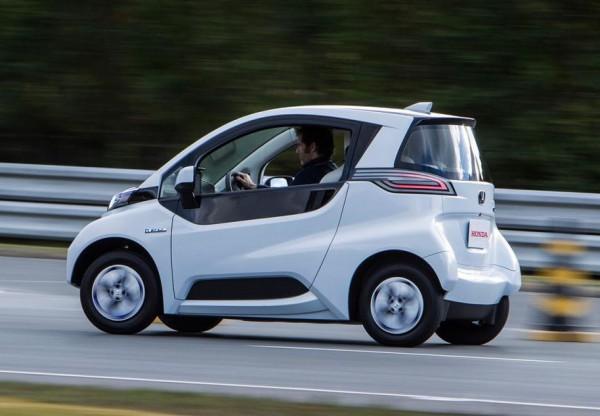 Honda Micro Commuter – миниатюрный электрокар