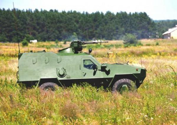 Армия получит новые броневики