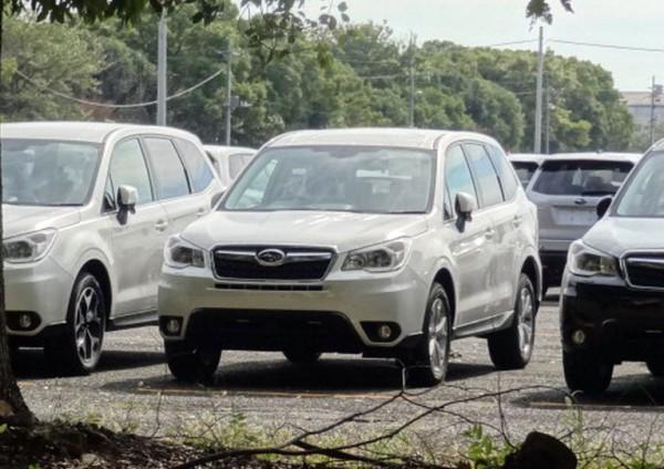 Новый Subaru Forester выйдет в Японии уже в ноябре