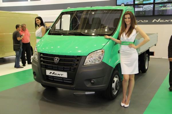 SIA 2013: ГАЗель-NEXT. Бортовой автомобиль (ГАЗ-А21R22)