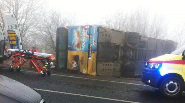 Авария автобуса в Чехии