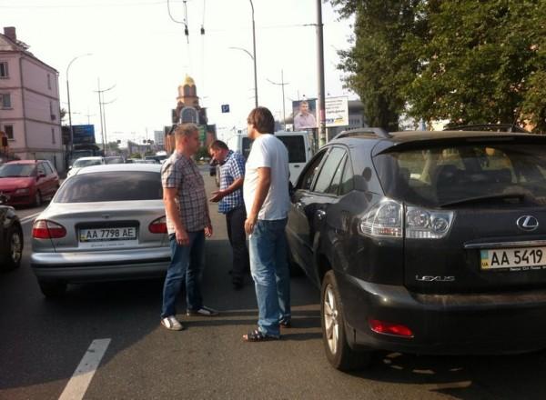 Инцидент в Киеве