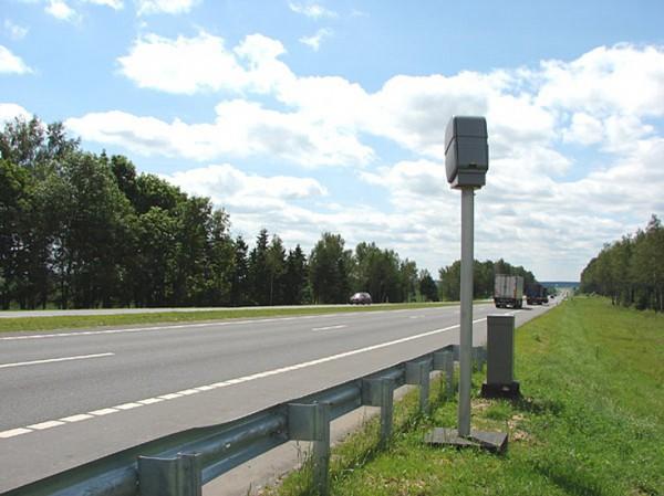 На дорогах установят камеры