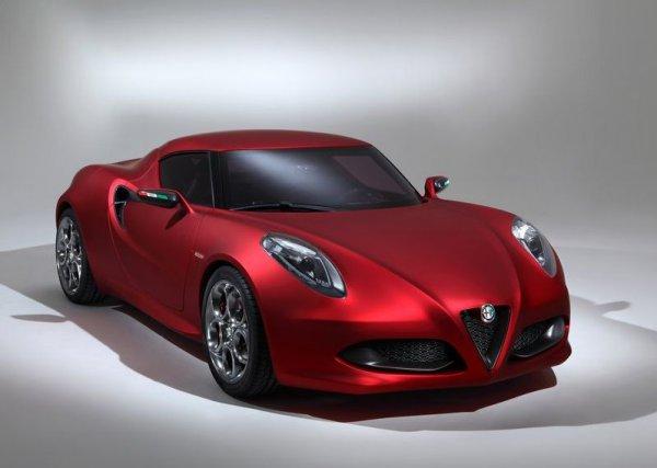 Alfa Romeo 4C Concept – прототип нового спортивного купе
