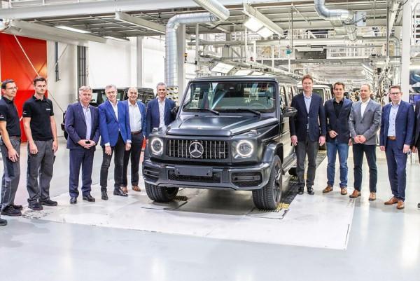 Первый собранный Mercedes-Benz Gelandewagen второго поколения