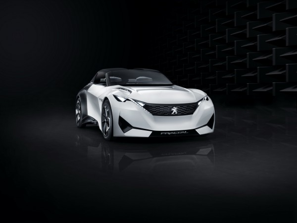 Кабриолет Peugeot Fractal