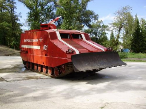 Уникальный танк на базе Т-64
