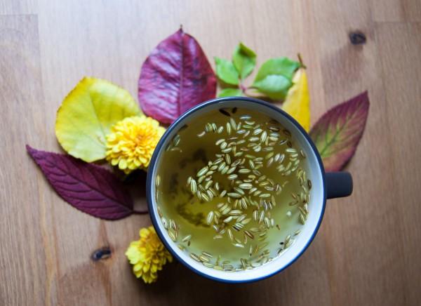 Чайный напиток из фенхеля