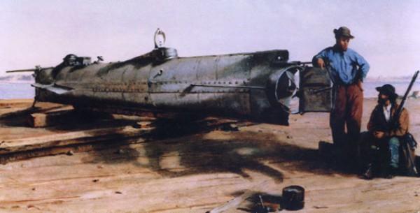 Подводная лодка Hunley