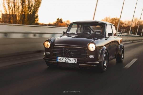 В Польше создали необычный Trabant