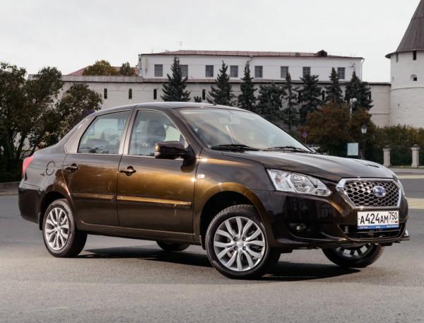 Datsun on-Do появились в Украине