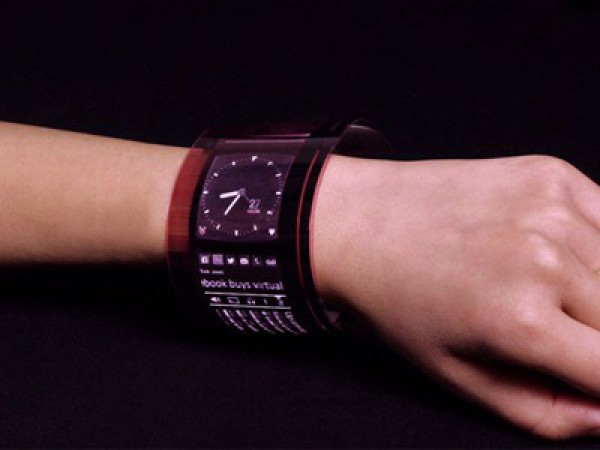 Гибкие экраны будут использоваться для носимых устройств