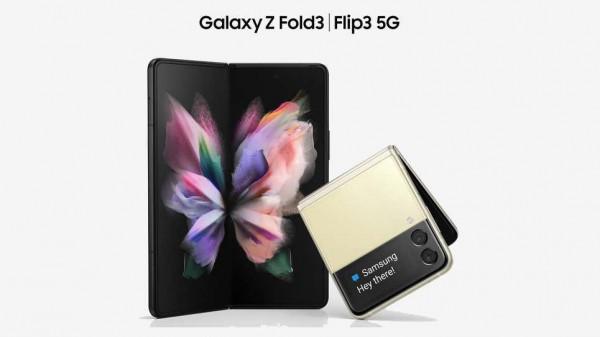 Galaxy Z Fold 3 (слева) и Galaxy Z Flip 3 (справа)