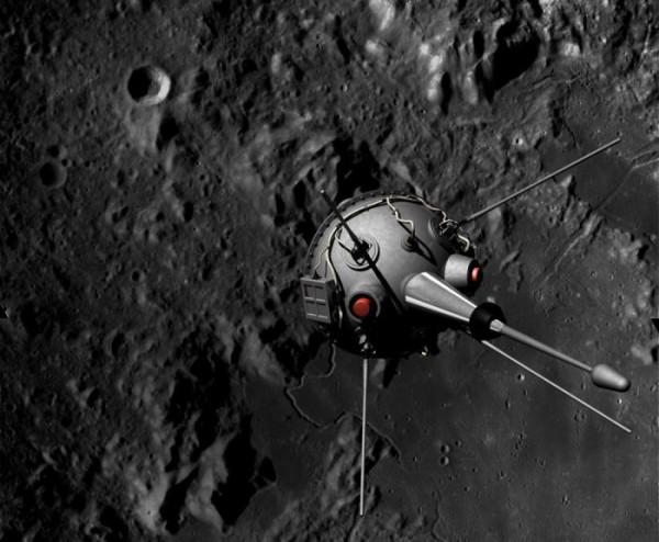 Луна-2 первой добралась до поверхности спутника Земли