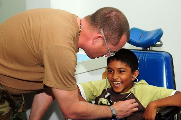 Мальчик с церебральным параличем
