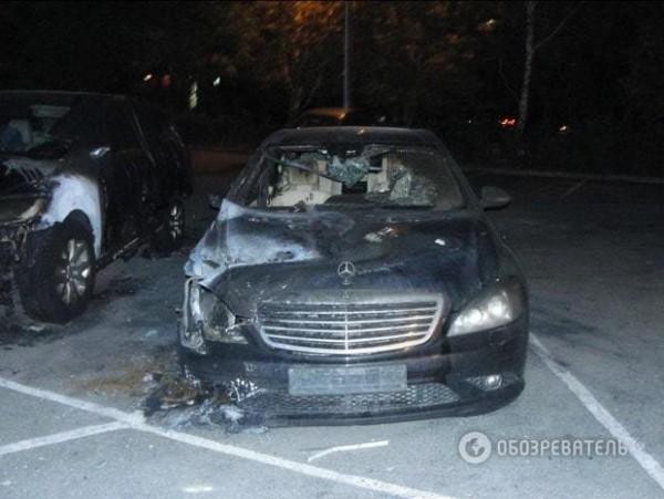 Пожар произошел в центральной части Киева, в 200 метрах от Киевской областной администрации