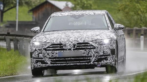Шпионы сфотографировали Audi A8 нового поколения