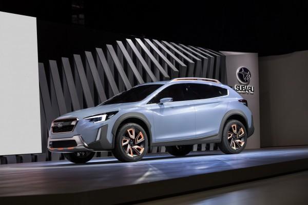 Концепт кроссовера от Subaru
