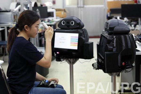 Испытания робота