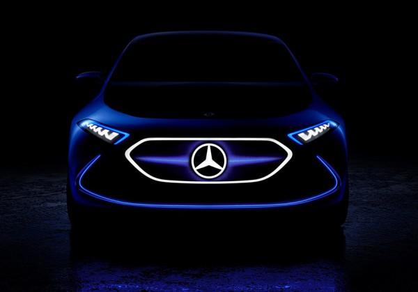 Новый Mercedes