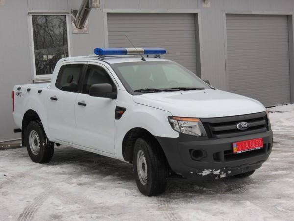 Бронированный Форд для пограничников