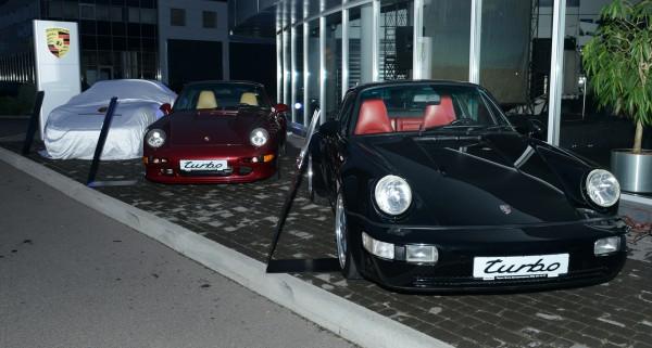 Три поколения Porsche 911 Turbo выставили для сравнения