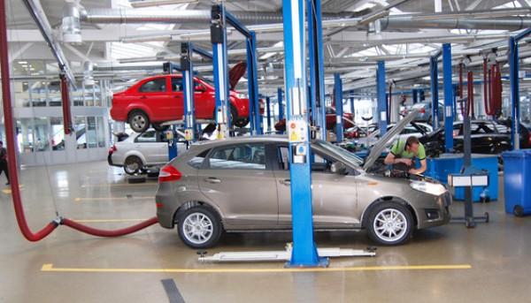 В Украине растет производство авто