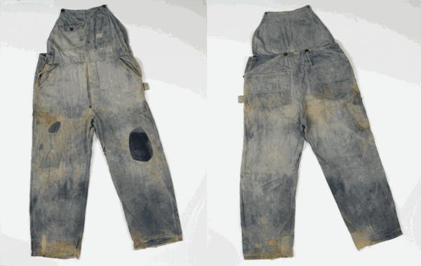 Одни из первых джинсов