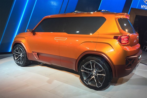Hyundai представил концепт компактного кроссовера