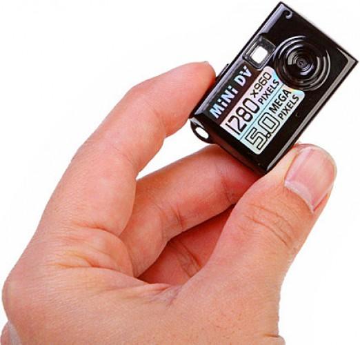 Самая маленькая видеокамера выглядит вот так