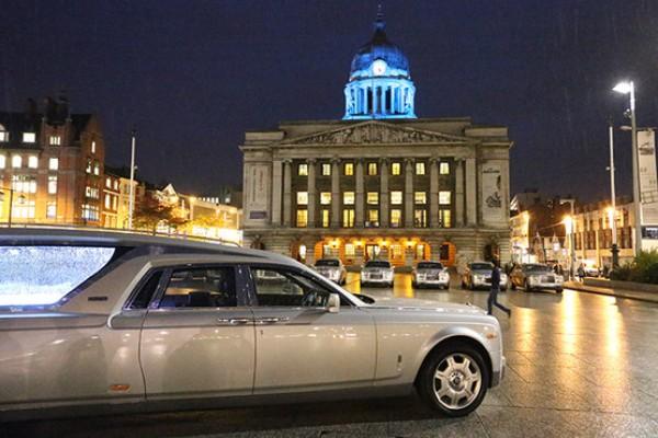 Катафалк Rolls-Royce Phantom