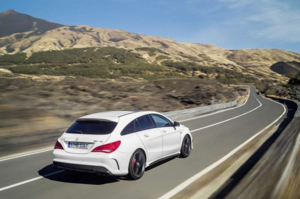 Новый Mercedes-Benz CLA Shooting Brake