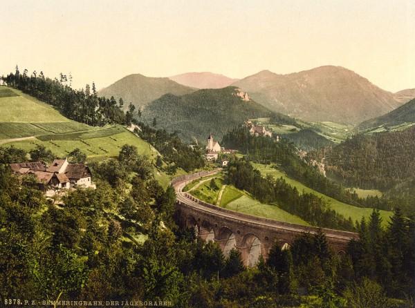 Первая в Европе железная дорога