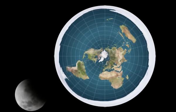 Плоская Земля лишилась бы атмосферы