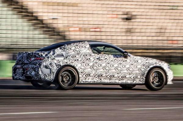 Новое купе от Mercedes