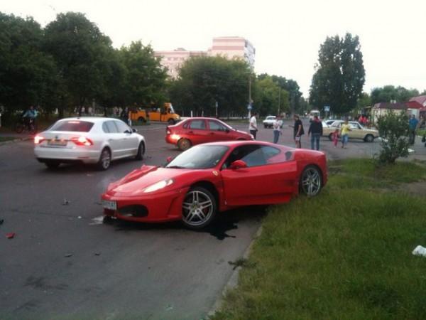 Авария в Чернигове