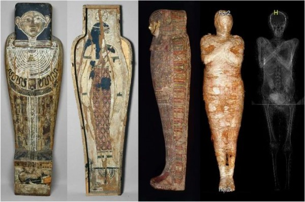 Гроб и мумия