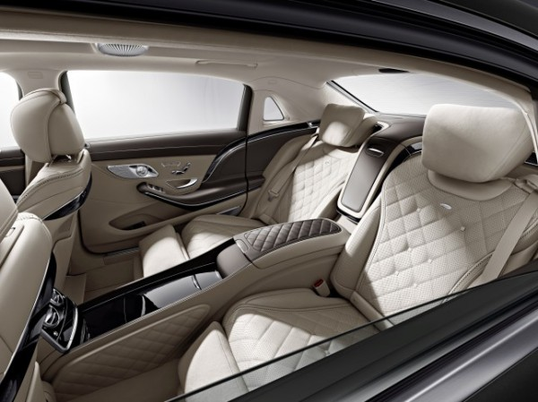 Салон Mercedes-Maybach S600