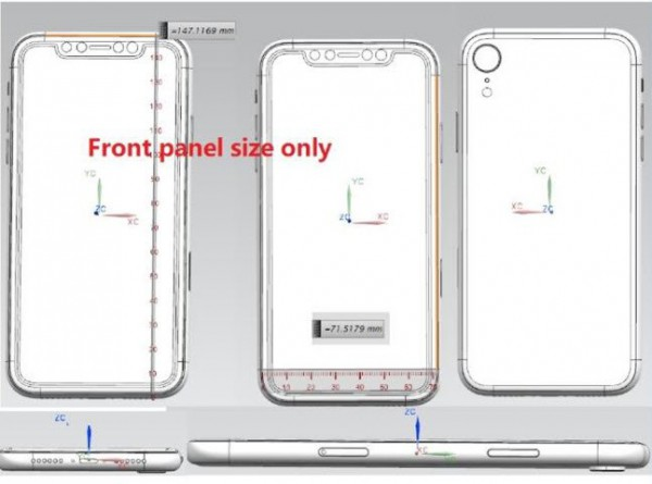 Эскиз нового iPhone