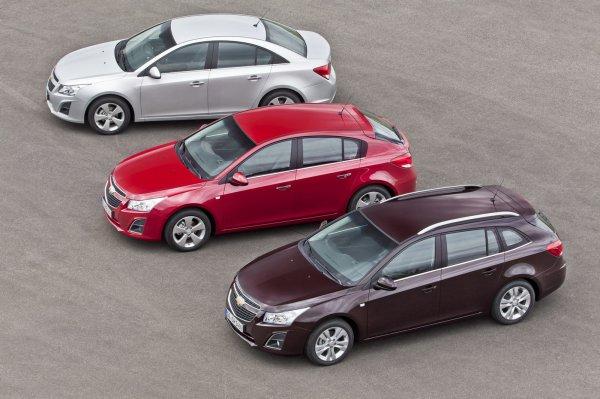 Обновленный Chevrolet Cruze выставят на обозрение