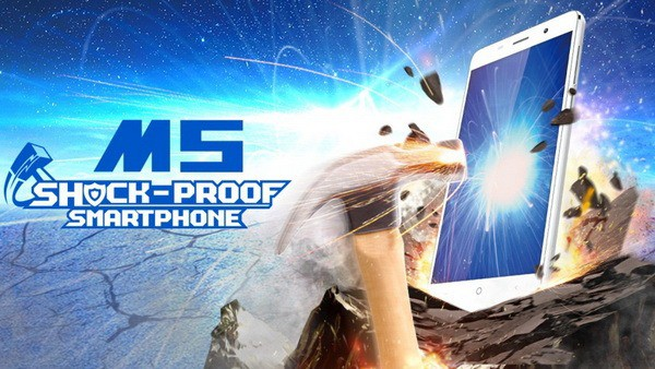 Противоударный телефон Leagoo M5