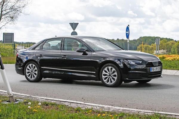 Audi A4 впервые заметили без камуфляжа