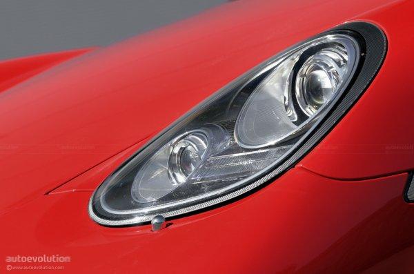 Ксенон в Porsche Cayman S