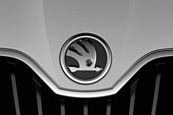 Так эмблема Skoda будет выглядеть на автомобилях