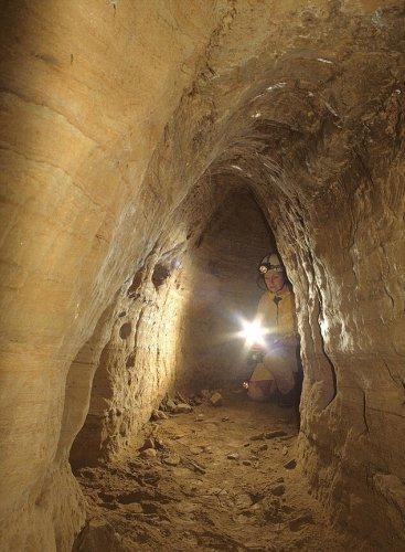 Туннели протянулись под древними поселениями