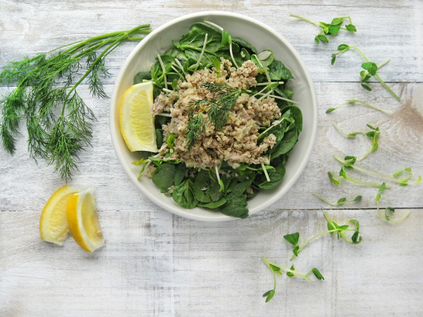Салат укропом не испортишь